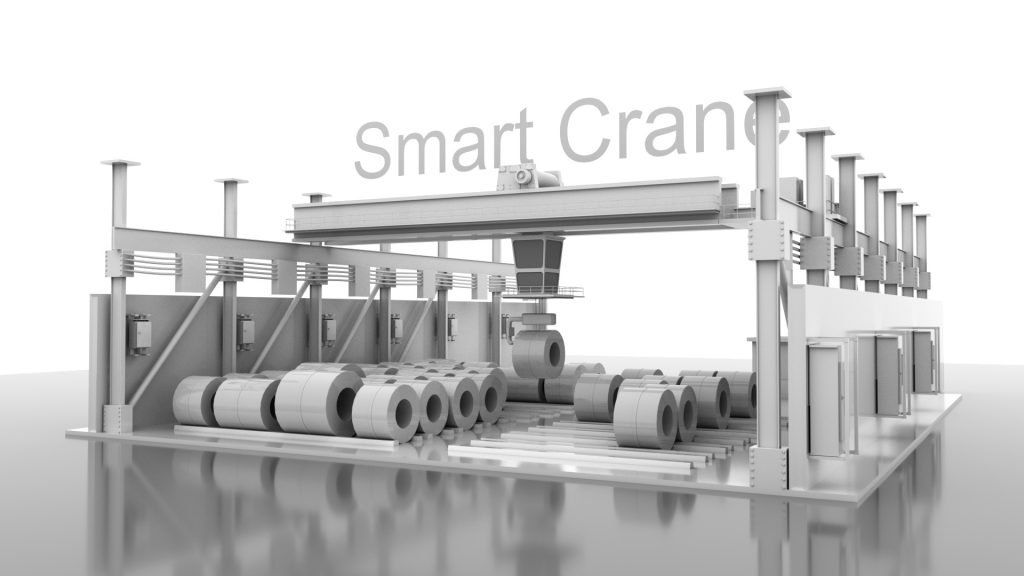 Smart Crane for Steel Industry